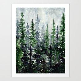 Lost In Nature Art Print