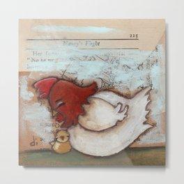 Cuddle Time - by Diane Duda Metal Print