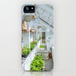 The Lost Gardens of Heligan - Victorian Glass House 1 iPhone Case
