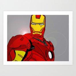 Ironman Print Art Print