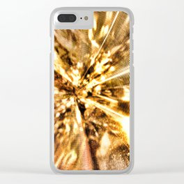"""Light Magnified 2"" Clear iPhone Case"