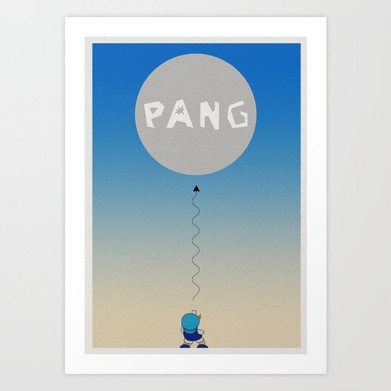 Pang Art Print