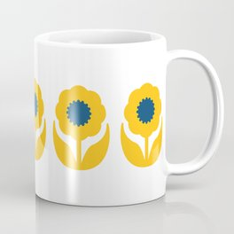 Joy collection- Yellow flowers Coffee Mug