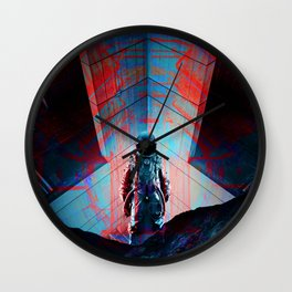 See you soon Space Cowboy Wall Clock