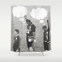 What Were You Thinking? 4 Shower Curtain