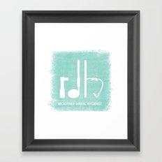 RDH Framed Art Print