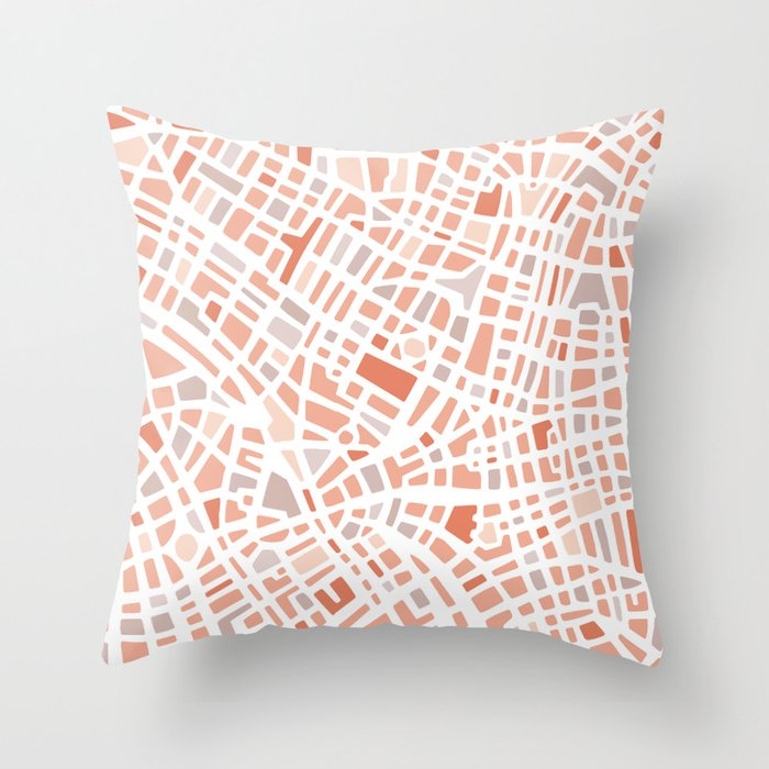 The city I love Throw Pillow
