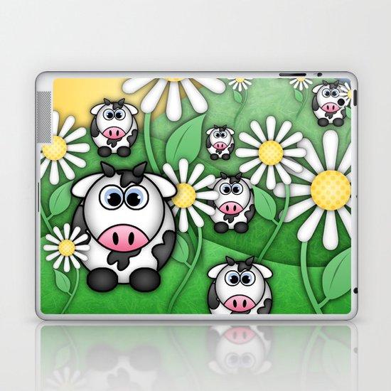 Cows & Daisies  Laptop & iPad Skin