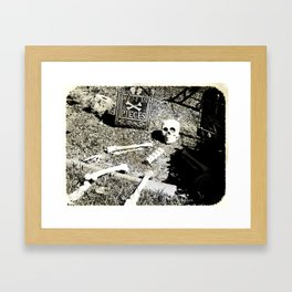Rest In Pieces Framed Art Print