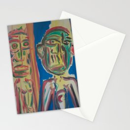 Twin Portrait Stationery Cards