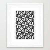 cross Framed Art Prints featuring cross by ErDavid