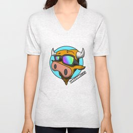 MooMooDecks Unisex V-Neck