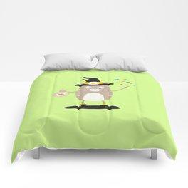 Happy Halloween Witch Cat T-Shirt Dfewd Comforters