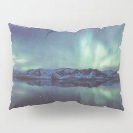 Jokulsarlon Lagoon - Landscape and Nature Photography Pillow Sham