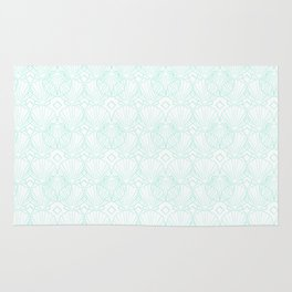 Miami Beach Motel- Mint Rug