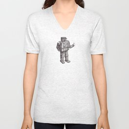Robot Toy Shirt Unisex V-Neck