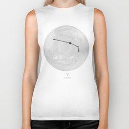 Moon Astrology - Zodiac Aries Biker Tank