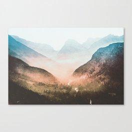 Mountain Adventure 21 - Nature Photography Canvas Print