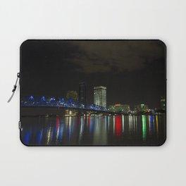 Jacksonville at Night Laptop Sleeve