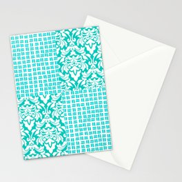 Teal me something good Stationery Cards