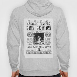 Billy Bonney Wanted Hoody