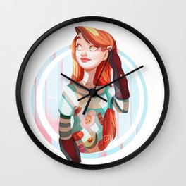 Full Breakfast Wall Clock