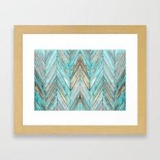 Wood Texture 1 Framed Art Print