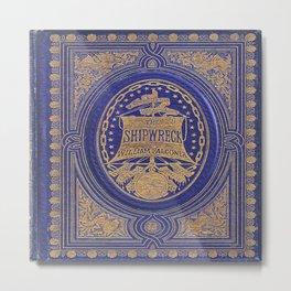 The Shipwreck Book Metal Print