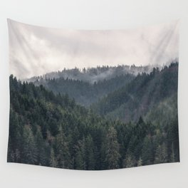 Pacific Northwest Forest - Nature Photography Wall Tapestry