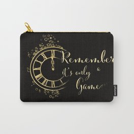 """Caraval"""" by Stephanie Garber Carry-All Pouch"""