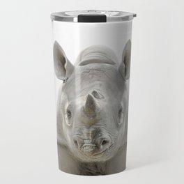 Baby Rhinoceros Travel Mug