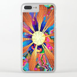 The Circle Of Life Clear iPhone Case