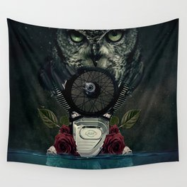 Owl Life Wall Tapestry