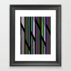 Static LXX Framed Art Print