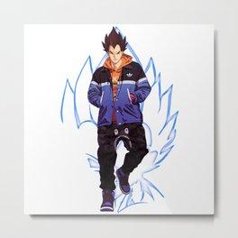Super Saiyan Vegeta x AJ 1 Metal Print