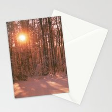 Sunrise in Winter Stationery Cards