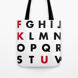 Learn your ABC Tote Bag