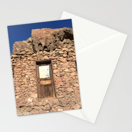 Building at the Ghost Town in Calico, California Stationery Cards
