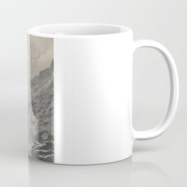 Boy on a Bridge Litho Coffee Mug