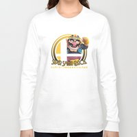super smash bros Long Sleeve T-shirts featuring Wario - Super Smash Bros. by Donkey Inferno
