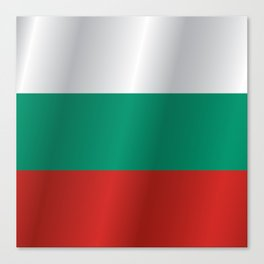 Flag of Bulgaria Canvas Print