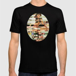 Glitch Pin-Up Redux: Randi T-shirt