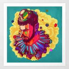 I am not a Clown Art Print