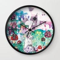 Wonder World Wall Clock