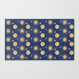Celestial Bodies Canvas Print