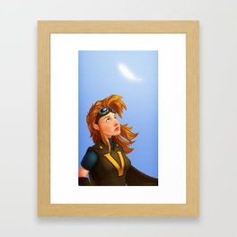 Vora: Princess of the Skies Framed Art Print