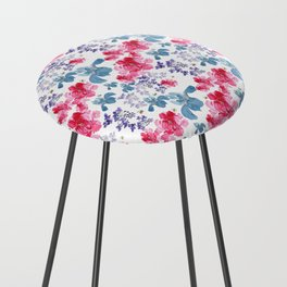 Bee Dreams Pattern Counter Stool