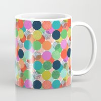 chelsea Mugs featuring Chelsea Dot by Elephant & Rose