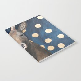 Stag with Tubbs and Goose Notebook