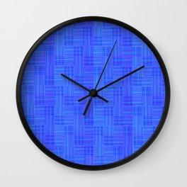 Interpretive Weaving (Nightfall) Wall Clock